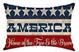 Happy Independence Day American Flag Home of Free...