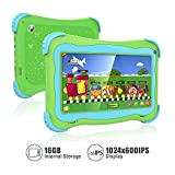 Kids Tablet 7 Android Kids Tablet Toddler Tablet Kids Edition Tablet with WiFi...