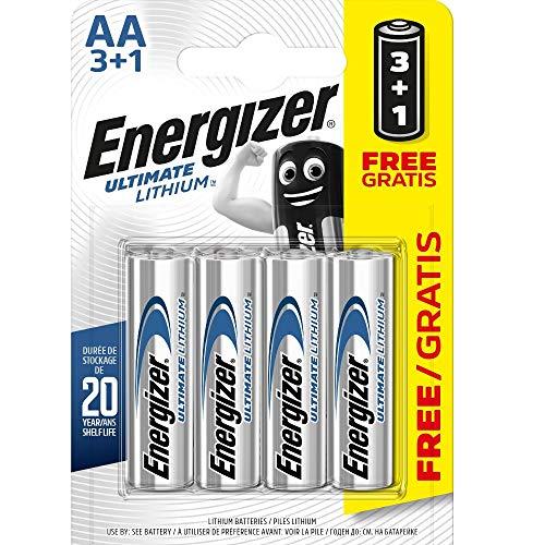 Energizer AA/L912900.0mAh Ultimate Lithium Batterien (4Stück)