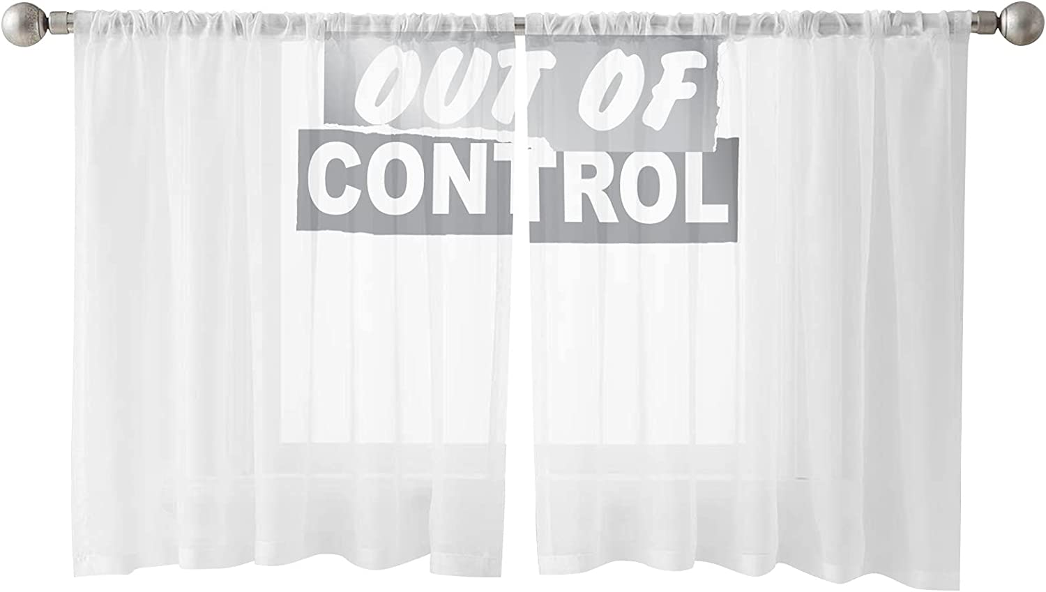 Sheer Curtains 54 Inches Length Vo Sayings Cheap mail order specialty store Panels Semi 2 Milwaukee Mall