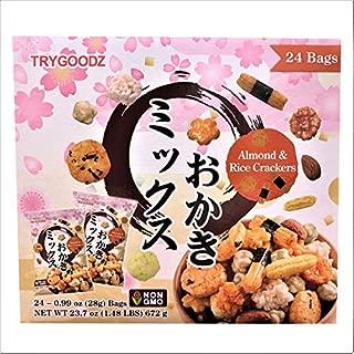 TryGoodz Almond & Rice Crackers 0.99 oz Snack Bags - 24 Packs