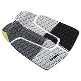 ION, pad antiscivolo per tavola da surf e da kitesurf, 3 pezzi, colore grigio