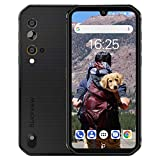 Rugged Unlocked Phone, Blackview BV9900E Smartphone, 6GB+128GB ROM Helio P90, Android 10 Unlocked Smartphone, 48MP+16MP+ HDR Cricket Phone, Wireless Charging 5.84' FHD+ 4G GSM Gaming Cellphones