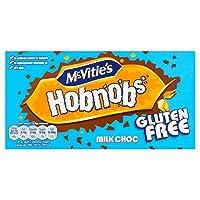 Mcvities Gluten Free Milk Choc Hobnobs 150g - (McVitie's) McvitiesグルテンフリーのミルクチョコのHobnobsの150グラム [並行輸入品]
