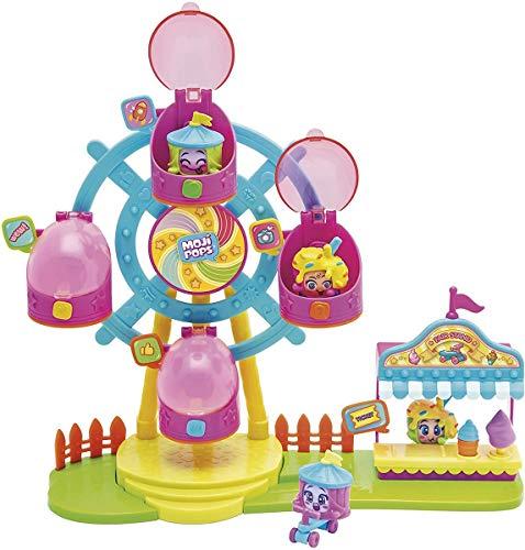 MOJIPOPS - Ferrys Wheel con 2 exclusivas figuras MojiPops y variedad de accesorios , color/modelo surtido