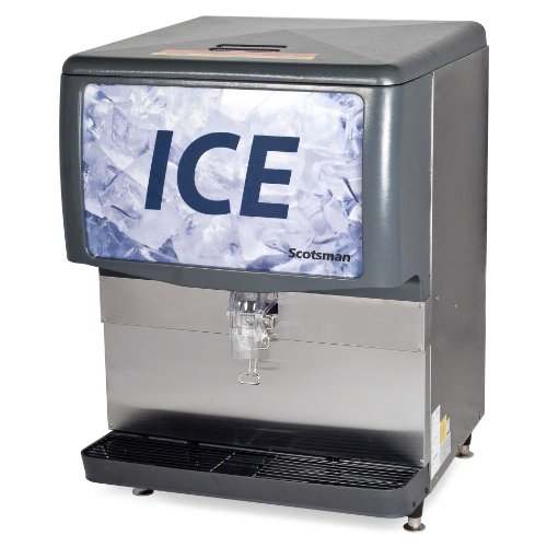 Best Review Of Scotsman ID250B-1 Modular Countertop Cube Ice Dispenser, 250 lbs/Day, Stainless Steel...