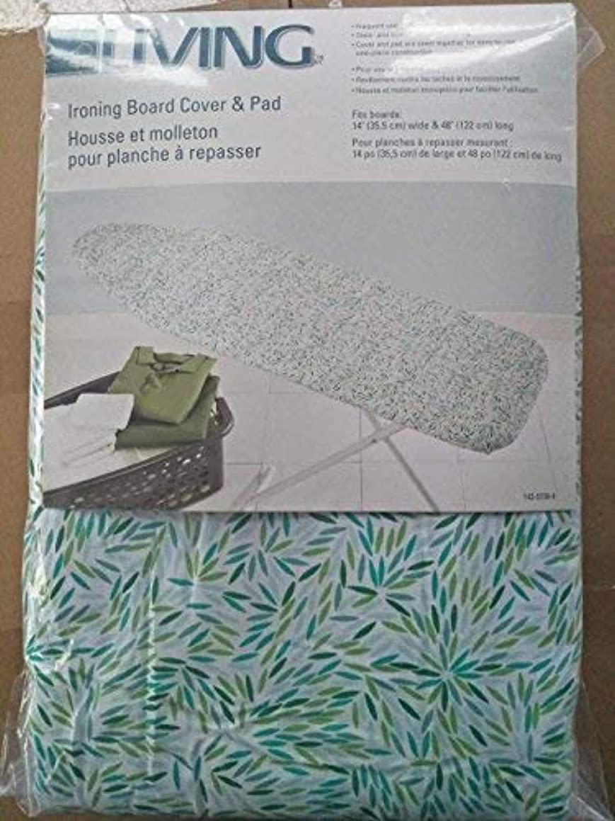 J&J home fashion Moderate Use -14X48inch Ironing Board Cover with Pad