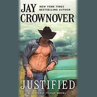Justified audiobook cover art
