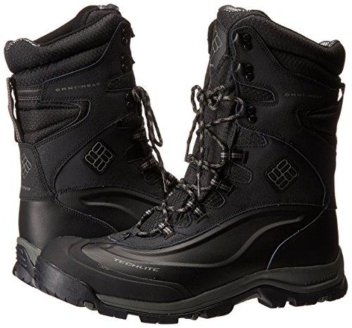 Columbia Bugaboot Plus III XTM Omni Heat Walking Boots, noir/charbon, 42.5