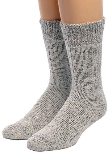Warrior Alpaca Socks - Men's Ultimate Alpaca Socks with Comfort Band...