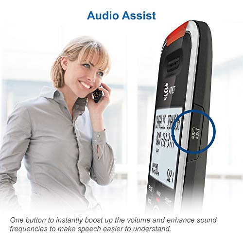 Handset Cordless Phone for Home with Answering Machine