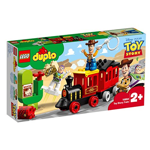 LEGO 10894 DUPLO Toy Story 4 Train for Toddler with Buzz and Woody Figures
