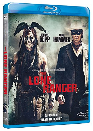 The lone ranger [Italia] [Blu-ray]