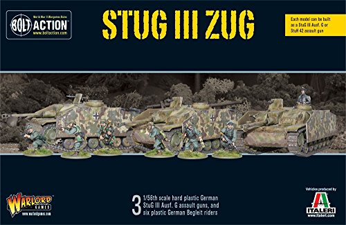 WAR WGB START 21   WW2 German Stug III Zug   Box Set