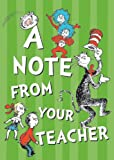 Eureka Back to School Dr. Seuss Cat in the Hat Postcards for Teachers, 4'' W x 6'' H