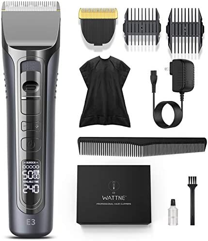 Hair Clippers for Men Professional Hair Trimmers Cordless Beard Trimmer Titanium Ceramic Blade product image