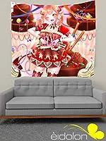 Eidolon タペストリー BanG Dream! バンドリ! 市ヶ谷有咲 壁飾り 壁掛け 大判ファブリック 装飾布 背景布 大判ポスター 多機能 アニメ 漫画 軽量 HD カスタム可能 約130x150cm