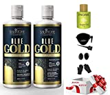 Salvatore New Edition Blue Gold System Taninoplasty| Extreme Straight Progressive System | Tanino Restructuring | No Formol | Volume Reducer | Kit 2x500ml | Free Gifts Worth $30 with this order