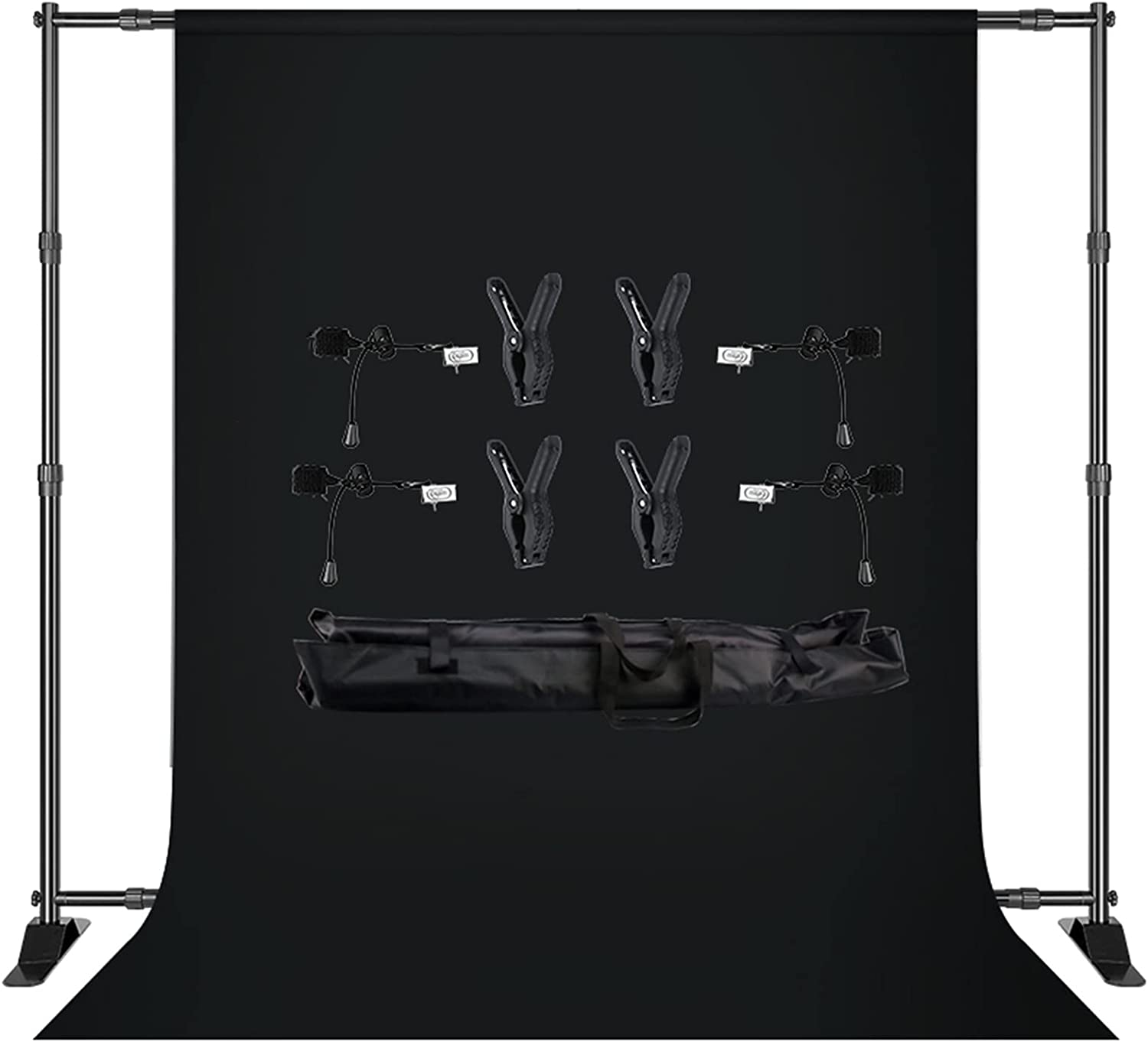 YYFANGYF Sales results No. 1 Photo Video Studio Background Stand 2.7x3m Kit Double- Al sold out.