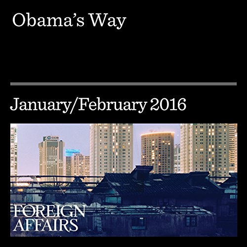 Obama's Way audiobook cover art