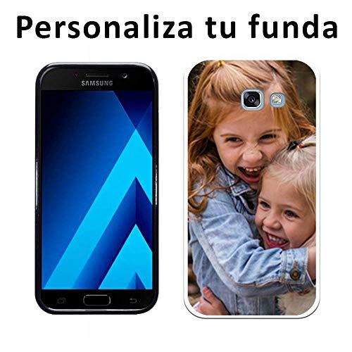 Mookase Funda Carcasa Personalizada para Samsung Galaxy A5 2017 con tu Foto, Dibujo o Texto (Básica)