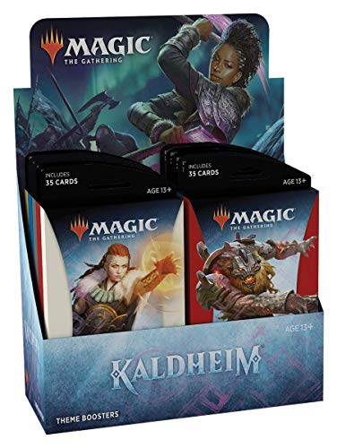 Magic The Gathering: Kaldheim| Theme Booster Display | 12 Boosters | 35 cards por Booster | Inglês