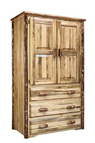 Montana Woodworks Glacier Country Collection Armoire