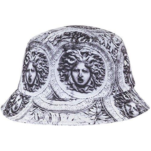 Flex fit Sun King Bucket Hat blk/WHT One Size Casquette Unisex-Adult