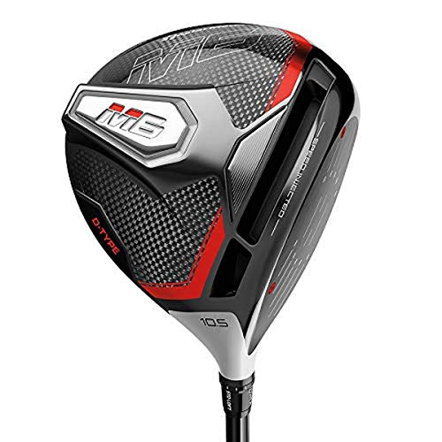 TaylorMade Golf M6 D-Type Driver, 12.0 Loft, Right Hand, Senior Flex Shaft: Project X Evenflow Max Carry 45