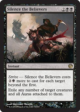 Magic The Gathering - Silence The Believers (/165) - Journey into Nyx