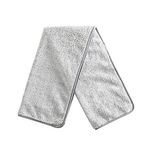 CMZ Toallas de Fibra de Carbono Bamboo, toallitas Suaves absorbentes de Agua, toallitas de Terciopelo Coralino (35x75cm)