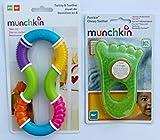 Munchkin Twisty 8 and Munchkin Fun Ice - Mordedor para bebé (pie verde)