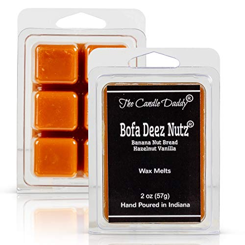 The Candle Daddy Bofa Deez Nutz- Funny Banana Nut Bread Scented Melts-...