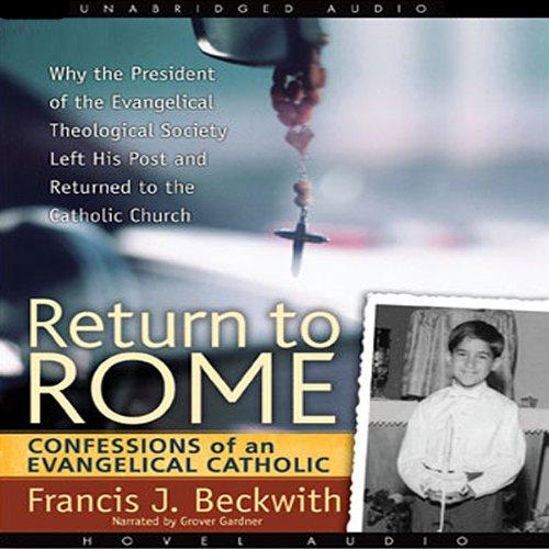 Return to Rome audiobook cover art