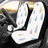 Enoqunt Protector de cubiertas de asiento de coche de belleza particular para el clima de lluvia para vehículo SUV de camión Jeap de automóvil