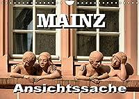 Mainz - Ansichtssache (Wandkalender 2022 DIN A4 quer): 12 Ansichten der Stadt am Rhein (Monatskalender, 14 Seiten )