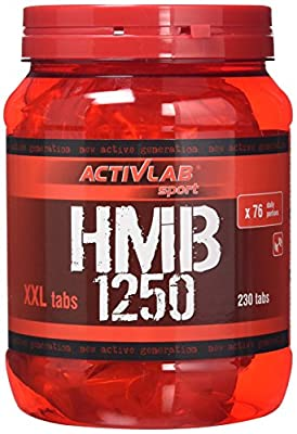 ACTIVLAB SPORT HMB 1250 Tablets, Total 230