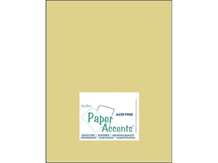 Accent Design Paper Accents Cdstk Muslin 8.5x11 74# Spring Breeze