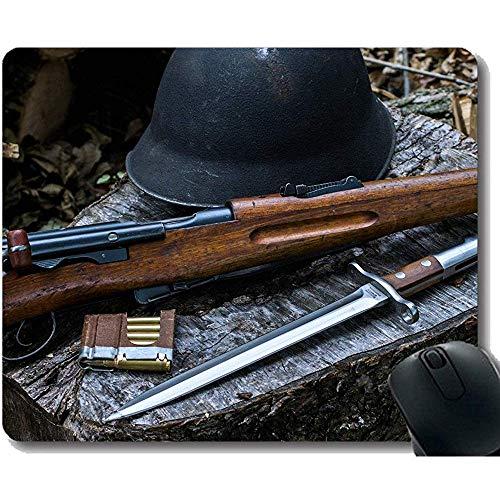 Uw eigen aangepaste muismat, Zwitserse Schmidt Rubin K11 Mes Wapen Rubber Base Mouse Pads 30X25CM