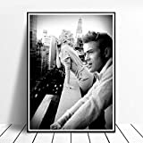 CNHNWJ Marilyn Monroe und James Dean Rauchen in New York