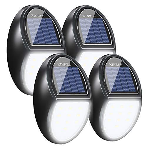 XINREE Outdoor Solar Steps Lights