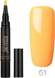 MORETIME Mujer Esmalte de Uñas Semipermanente Uñas de Gel UV Top Coat de Brillo y Top Coat de Pegamento especial para uña...