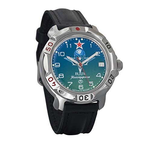 Reloj de pulsera mecánico 'Komandirskie' para hombre con diseño de aviación militar rusa. De Vostok 2414/811818