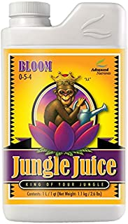 Advanced Nutrients 1700-14 Jungle Juice Bloom Fertilizer, 1 Liter, Brown/A
