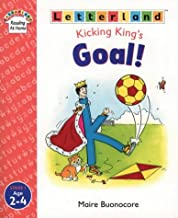 kicking king letterland