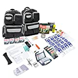 ✅ Protect Yourself and Your Family- A multi-purpose 72-hour survival kit designed to prepare you and your family for any emergency event or disaster, whether you are bugging out to a shelter or staying indoors. This 72-hour emergency kit will prepare...