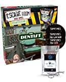 Escape Room Ampliación The Dentist – Juego familiar y de sociedad para adultos – Solo se puede jugar con el decodificador de crono + 2 pegatinas Escape + 1 adorno de metal
