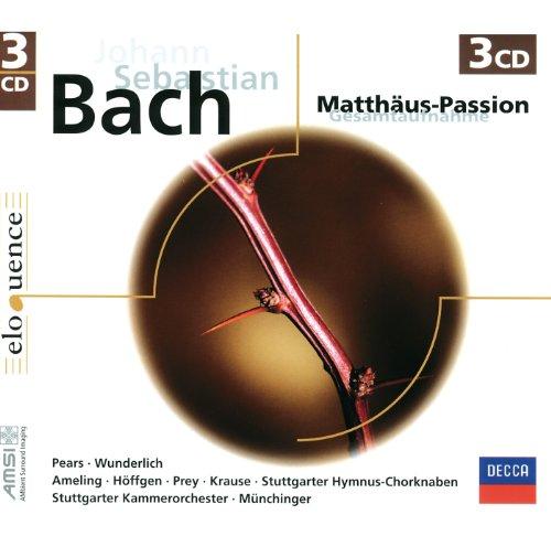 J.S. Bach: St. Matthew Passion / Part 2 - No.67 Recitative (Soprano, Alto, Tenor, Bass, Chorus II):