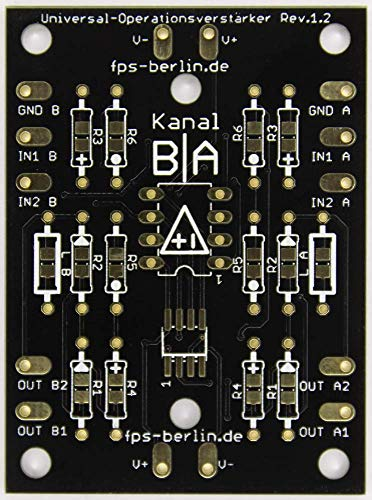 4x Platine Universal-Operationsverstärker
