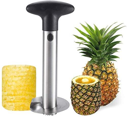 Yiwoo Pineapple Peeling Handheld Fruit Slicer Stainless Steel Advanced...
